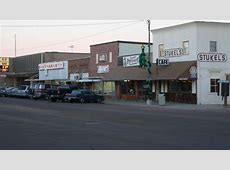 Gregory, SD Slice of Main Street in Gregory, SD photo
