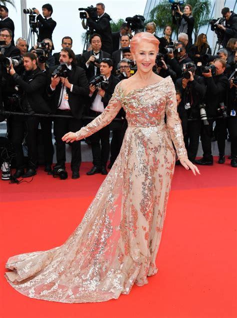 Helen Mirren Debuts Stunning Pink Hair As She Steals The