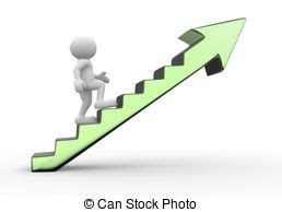 Corporate Ladder Clipart Stock Illustrations