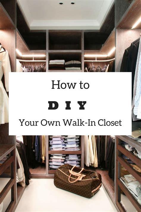 easy diy   build  walk  closet   envy