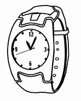 Clock Coloring Alarm March Pages Printable Getcolorings sketch template
