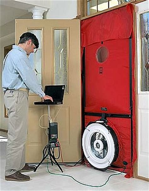 how much does a blower door test cost whole house air sealing md washington dc maryland