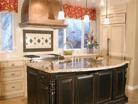 country kitchen island ideas kitchen layouts with islands country kitchen
