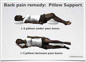 25 best images about how to sleep with lower back pain on With alleviate lower back pain while sleeping