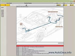 Ferrari Enzo Spare Parts Catalog  Workshop Service Manual