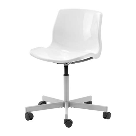 white color plastic seat steel base swivel chair office