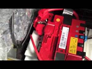 Bmw E92 E90  E93 Car Battery Replacement