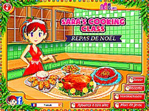 beaucoup de jeux de cuisine repas de noël école de cuisine de un des jeux en