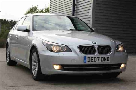 airbag deployment 2007 bmw 5 series user handbook bmw 2007 07 530d 3 0td se manual silver diesel e60 5 series car for sale