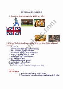 habits and customs esl worksheet by elishor