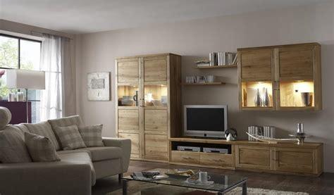 Wohnzimmer Wand Design by Wohnwand Wohnzimmerwand Wohnzimmer Tv Wildeiche Massiv