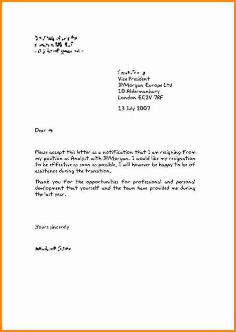 letter  resignation resign letter job