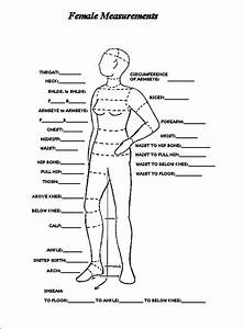 Image Result For Body Measurement Chart Women