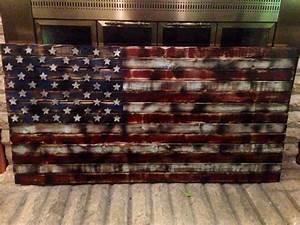 Rustic American Flag Wallpaper - WallpaperSafari
