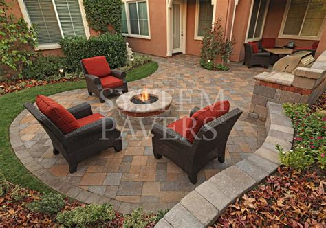 Backyard Pavers Ideas by Outdoor Pits Design Installation Services System