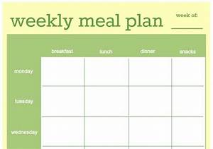 How to make a clean eating meal plan real food real deals for Two week meal plan template