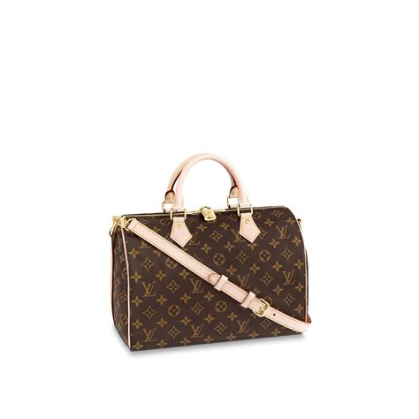 speedy bandouliere  monogram canvas handbags louis vuitton