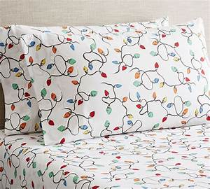 best christmas sheets for your bed 2017 With christmas sheets pottery barn