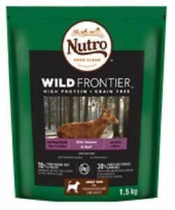 Nutro Dry Wild Frontier Venison Beef Complete Dry Dog