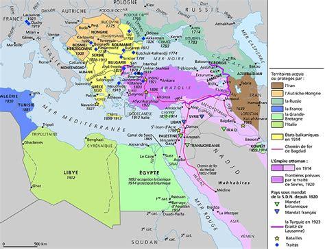 Carte De L Empire Ottoman by Encyclop 233 Die Larousse En Ligne Empire Ottoman