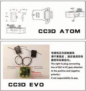 Openpilot Cc3d Atom Mini Cc3d Fpv Controllore Di Volo Cc3d