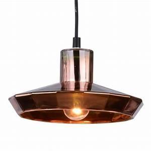 Suspension Luminaire Cuivre : suspension cuisine style industriel lentia kosilum ~ Teatrodelosmanantiales.com Idées de Décoration