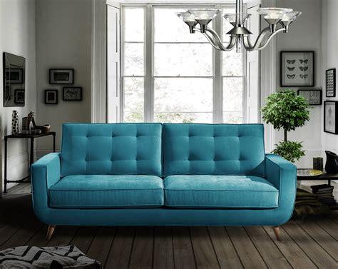 sofa turquesa sof 225 retro sterling cooper en portobellostreet es
