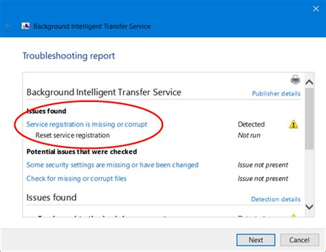 Bits Background Intelligent Transfer Service Background Intelligent Transfer Service Not Working In