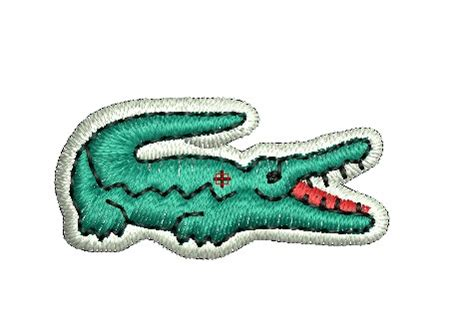 lacoste design machine embroidery
