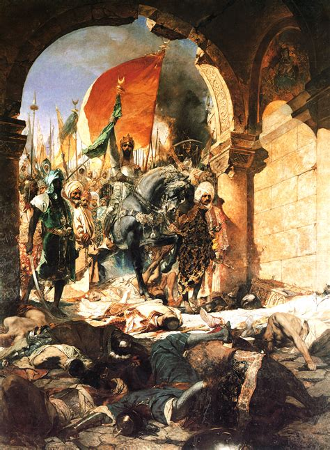siege de constantinople benjamin constant the entry of mahomet ii into