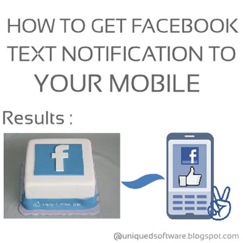 How To Get Facebook Text Notification To Your Mobile