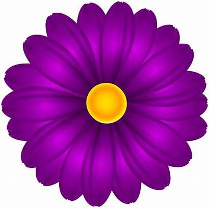 Purple Clipart Flower Flowers Transparent Yopriceville