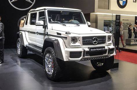 Mercedes-maybach G650 Landaulet Arrives As Swansong To