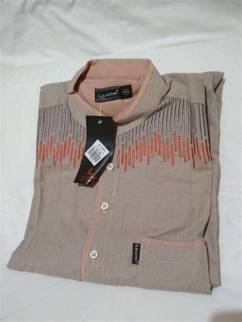 jual new product baju koko pakistan al luthfi lengan panjang stelan celana best quality di lapak