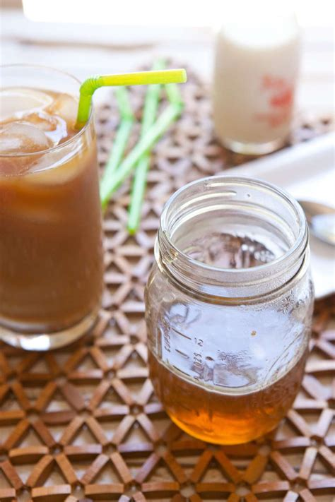 Once the simple syrup is cooled you can stir it into coffee drinks or cocktails. Recipe: Homemade Caramel Syrup for Your Coffee | Kitchn