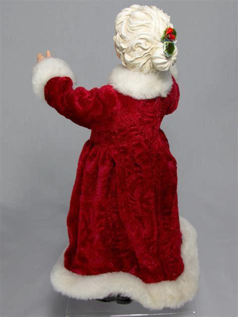 decorative open arms  claus cm ornaments