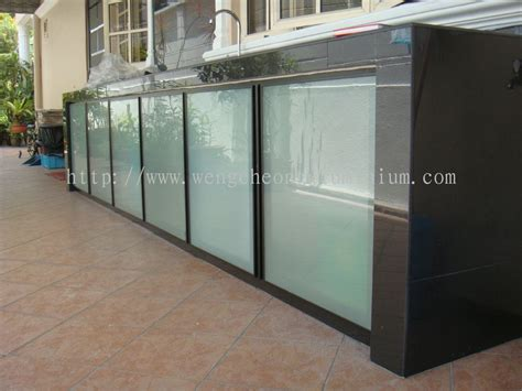 aluminium kitchen cabinet doors selangor kitchen cabinet door from weng cheong aluminium