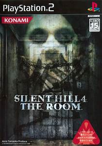 Silent Hill 4: The Room (2004) PlayStation 2 box cover art ...