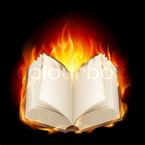 Burning The Past Southern Heat Book 3 by Burning Book Stock Vector Colourbox