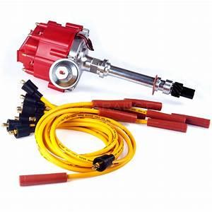 Gm08 Chevy Sbc 350 Bbc 454 Hei Distributor  U0026 Spark Plug