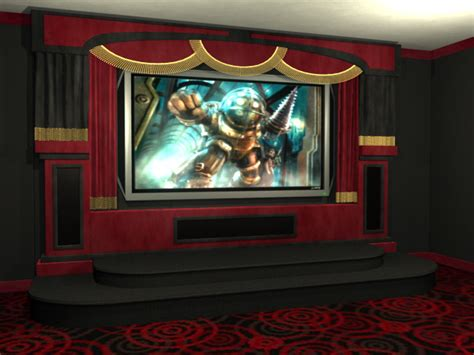 alumni home theater stage package