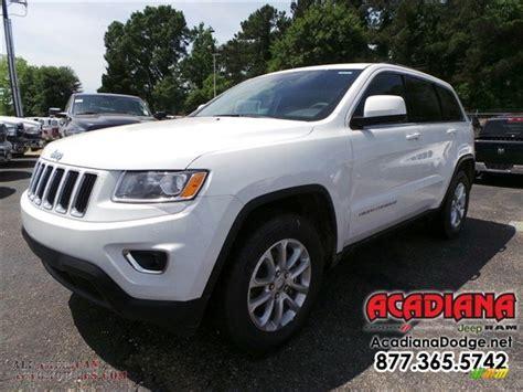 jeep laredo white 2015 jeep grand cherokee laredo in bright white 825553