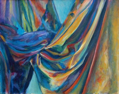 fabric draped draped fabric painting painting fabrics