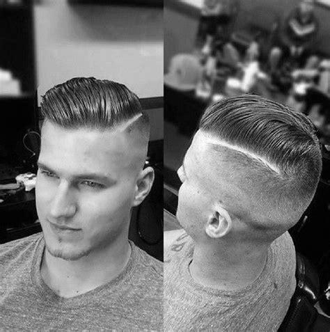 hard part haircuts  men sharp straight  style