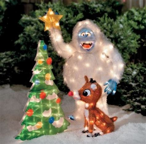 rudolph bumble outdoor 3pc christmas decor 370533 ebay
