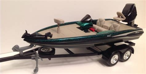 Boat Trailer Drag Wheels by Ertl Outdoor Sportsman Series Triton Tr21 Bass Boat And