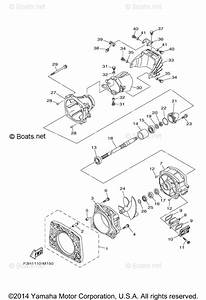 Yamaha Boat Parts 2013 Oem Parts Diagram For Jet Unit 1