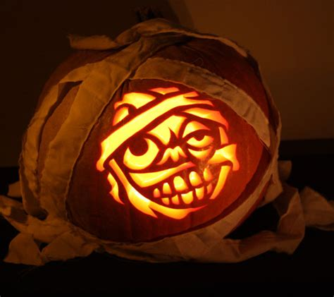 mummy pumpkin carving 111 world s coolest pumpkin designs to carve this falll homesthetics