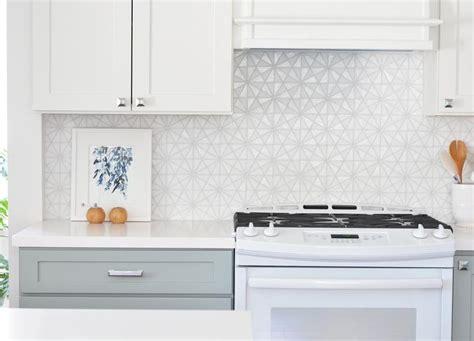 white kitchen backsplash tiles white iridescent hexagon tile kitchen backsplash