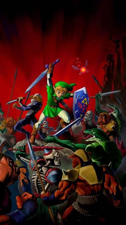 Zelda Legend Phone Wallpapers Mobile Iphone Link